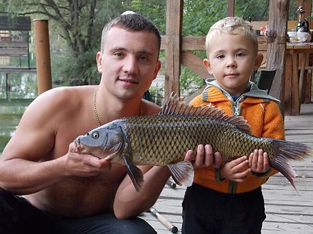 Рыбалка в Комарово